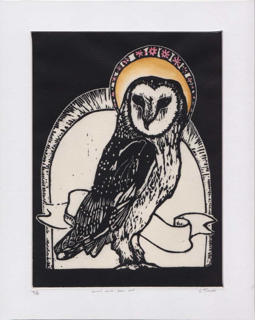 Animal Saints - Barn Owl